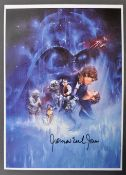 STAR WARS - JAMES EARL JONES - INCREDIBLE SIGNED M