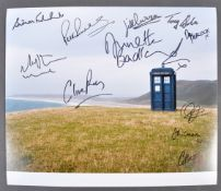 "DOCTOR WHO - LARGE AUTOGRAPHED 12X14"" PHOTOGRAPH"