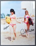 """CARRY ON FILMS – CARRY ON ABROAD – AUTOGRAPHED 8X10"""" PHOTO"""