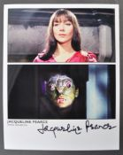 HAMMER HORROR - THE REPTILE - JACQUELINE PEARCE SIGNED PHOTO