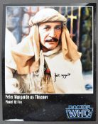 "PETER WYNGARDE - DOCTOR WHO - AUTOGRAPHED 8X10"" PH"