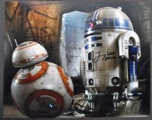STAR WARS THE FORCE AWAKENS - JIMMY VEE AUTOGRAPHED PHOTOGRAPH
