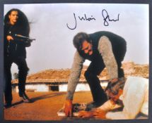 JAMES BOND 007 - JULIAN GLOVER AUTOGRAPHED PHOTOGRAPH