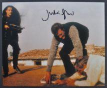 JAMES BOND 007 - JULIAN GLOVER AUTOGRAPHED PHOTOGRAPH