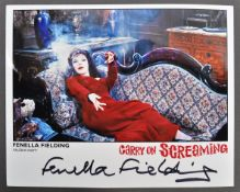"CARRY ON SCREAMING - FENELLA FIELDING - SIGNED 8X10"" PHOTO"