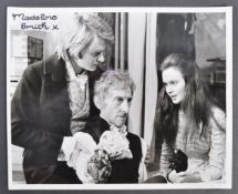 HAMMER HORROR - FRANKENSTEIN - MADELINE SMITH SIGNED PHOTO