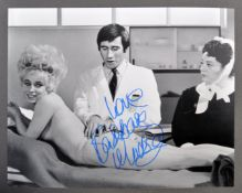 CARRY ON FILMS - BARBARA WINDSOR - RARE SIGNED PHO