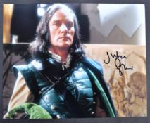 DOCTOR WHO - JULIAN GLOVER AUTOGRAPHED PHOTOGRAPH