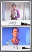 "SPACE 1999 - TWO AUTOGRAPHED 8X10"" PHOTOGRAPHS"