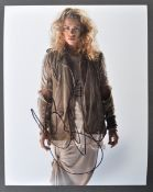 """DOCTOR WHO - BILLIE PIPER (ROSE) - AUTOGRAPHED 8X10"""" PHOTO"""