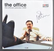 STEPHEN MERCHANT COLLECTION - THE OFFICE - AUTOGRAPHED CALENDAR
