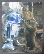 STAR WARS - KENNY BAKER - R2D2 - AUTOGRAPHED PHOTOGRAPH