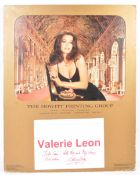 FROM THE COLLECTION OF VALERIE LEON - LARGE VINTAG