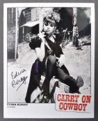 CARRY ON FILMS - EDINA RONAY - COWBOY AUTOGRAPHED