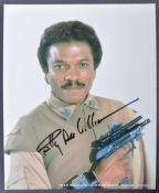 STAR WARS - BILLY DEE WILLIAMS - INCREDIBLE SIGNED PHOTOGRAPH