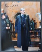 HARRY POTTER - ROGER LLOYD PACK - RARE SIGNED PHOTO