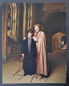 HARRY POTTER - RARE RADCLIFFE & BRANAGH DUAL SIGNED PHOTO