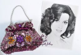 ANGELA GRANT COLLECTION - VINTAGE SEQUINED PURSE &