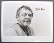 STAR WARS - PHIL BROWN - UNCLE OWEN - RARE SIGNED PHOTO