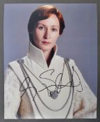 STAR WARS - GENEVIEVE O'REILLY - AUTOGRAPHED COLOUR PHOTO