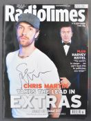 STEPHEN MERCHANT COLLECTION - EXTRAS - SIGNED RADIO TIMES
