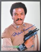 STAR WARS - BILLY DEE WILLIAMS - CELEBRATION II SIGNED PHOTO
