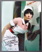 "CARRY ON FILMS - ANITA HARRIS - AUTOGRAPHED 8X10"" PHOTO"