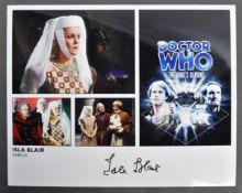 """COLLECTION OF ISLA BLAIR - DOCTOR WHO AUTOGRAPHED 8X10"""""""