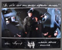 STAR WARS - ALAN FLYNG - RETURN OF THE JEDI SIGNED PHOTO