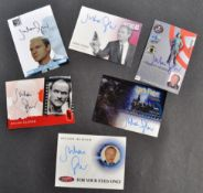 JULIAN GLOVER - COLLECTION OF ASSORTED AUTOGRAPHED TRADING CARDS