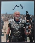 TROY (2004) - JULIAN GLOVER AUTOGRAPHED PHOTOGRAPH