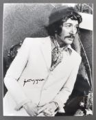 "PETER WYNGARDE - JASON KING - AUTOGRAPHED 8X10"" PH"