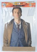 DOCTOR WHO - LIFESIZE CARDBOARD CUTOUT OF DAVID TENNANT