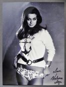 FROM THE COLLECTION OF VALERIE LEON - SIGNED 8X10""
