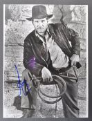 INDIANA JONES - RARE HARRISON FORD AUTOGRAPHED PHOTOGRAPH