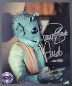 "STAR WARS - PAUL BLAKE - GREEDO - SIGNED PHOTOGRAPH 8X10"""