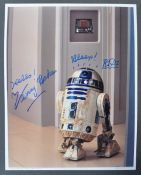 STAR WARS - KENNY BAKER - R2D2 - AUTOGRAPHED PHOTO