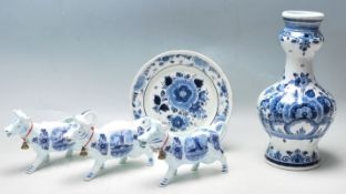 COLLECTION OF 20TH CENTURY DELFT