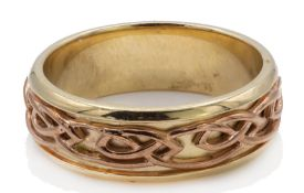 9ct Gold Hallmarked Clogau Annwyl Band Ring