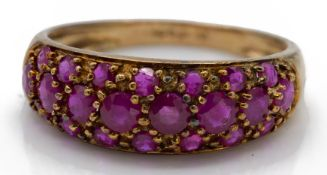 A 9ct Gold & Ruby Ring
