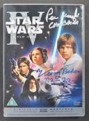 STAR WARS - PETER MAYHEW & KENNY BAKER - RARE SIGN
