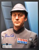 STAR WARS CELEBRATION - OFFICIAL AUTOGRAPHED 8X10""