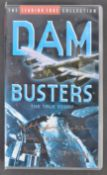 THE DAM BUSTERS - GEORGE JOHNNY JOHNSON SIGNED VHS