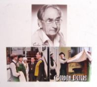 GORDON PETERS - DADS ARMY - SIGNED AUTOGRAPH COLLE