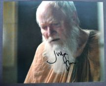 GAME OF THRONES - JULIAN GLOVER AUTOGRAPHED PHOTOG