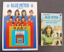 BLUE PETER - VALERIE SINGLETON - AUTOGRAPHED ANNUA