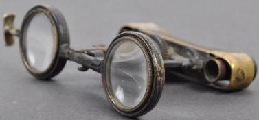 PAIR OF WWI FIRST WORLD WAR LA MIGNONNE FOLDING BINOCULARS