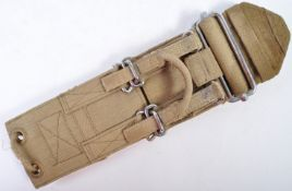ORIGINAL WWII AIR GUNNER LANCASTER QUICK-RELEASE BELT / STRAP