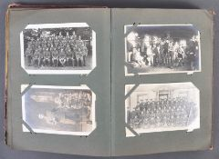 WWI FIRST WORLD WAR INTEREST REAL PHOTOGRAPH POSTCARD ALBUM