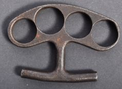 WWI FIRST WORLD WAR KNUCKLE DUSTER / BRASS KNUCKLES